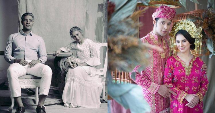 8 Beda gaya prewedding Irish Bella & Ammar Zoni, usung 4 tema