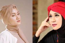 Inspirasi turban hijab 10 seleb cantik ini stylish, bisa ditiru