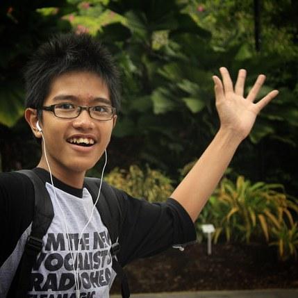 masa kecil Kaesang P  © 2019 brilio.net