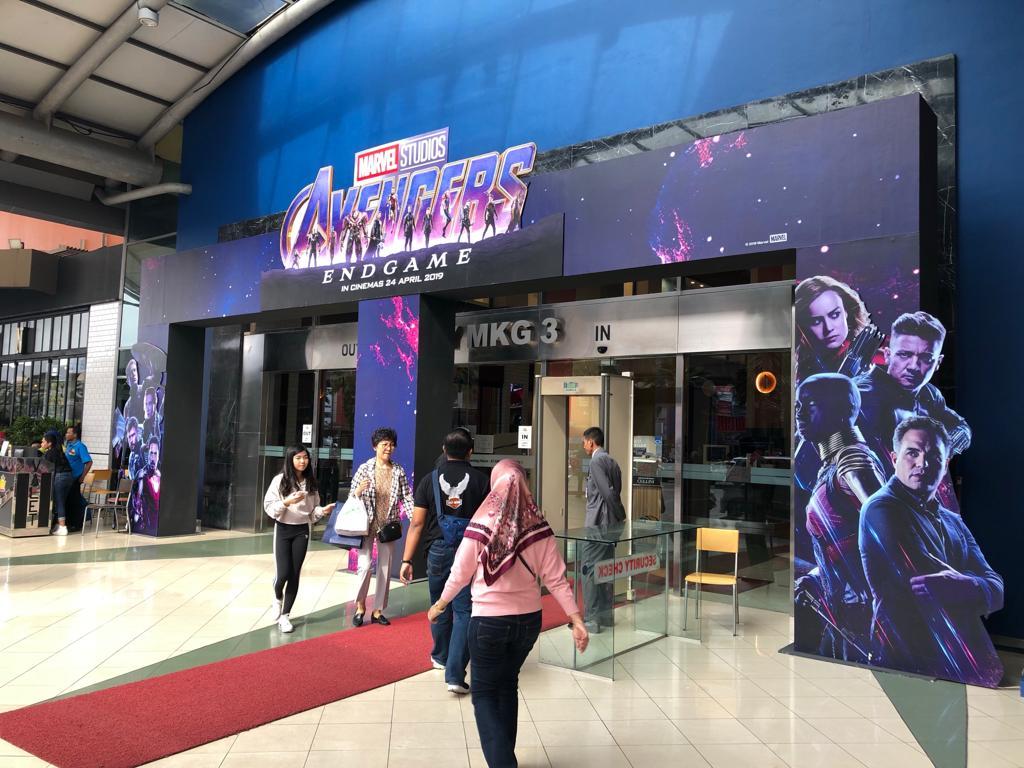 Sambut film Avengers: Endgame, mal ini hadirkan Thanos dan Iron Man