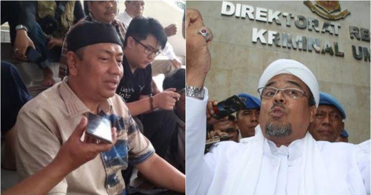 Kapitra PDIP: Pak Jokowi menang, saya harus jemput Habib Rizieq