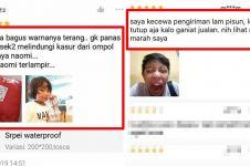 10 Testimoni belanja online pakai gambar ini bikin gagal paham
