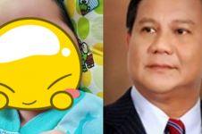 Viral bayi mirip dengan Prabowo, didoakan warganet jadi presiden