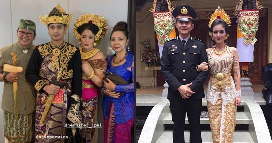 Selain Ajun Perwira, 4 seleb ini juga menikah pakai adat Bali