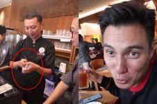 Makan di restoran mahal, Baim Wong bayar pakai pecahan Rp 2.000