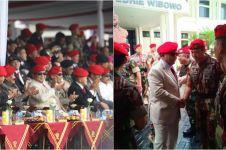 Prabowo, Hendropriyono & Gatot Nurmantyo hadiri HUT Kopassus