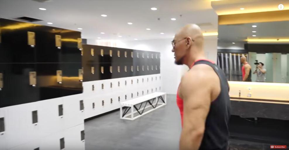 mewahnya tempat gym Rp 8 miliar istimewa