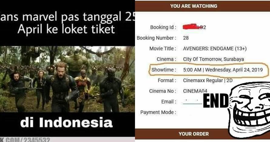 12 Meme lucu perjuangan dapat tiket Avengers: Endgame, bikin geli