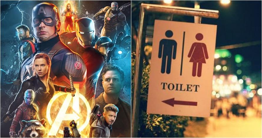 Tips ampuh tahan pipis nonton Avengers: End Game, durasinya 3 jam