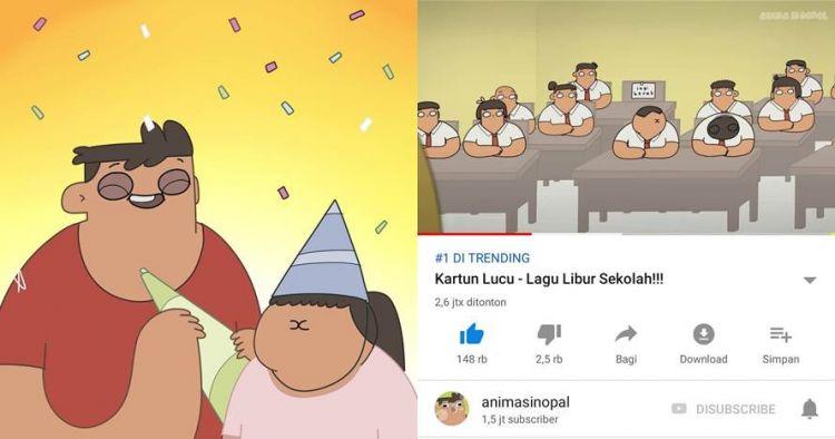 Ini sosok di balik Nopal dan Cute Girl animasi hits Si Nopal