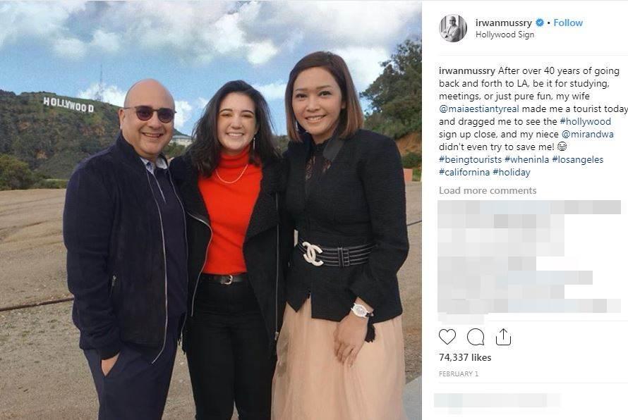 Gombalan Maia Irwan baper instagram