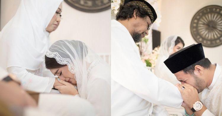 11 Momen pengajian jelang nikah Irish Bella & Ammar Zoni, penuh haru