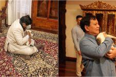 Selain kucing, Prabowo juga bisa 'ngobrol' dengan hewan-hewan ini