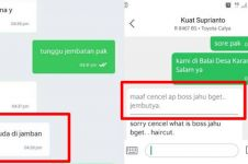 12 Chat lucu driver ojek online typo ini bikin auto salah paham