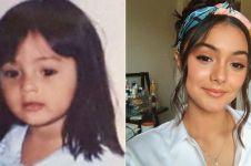 10 Potret masa kecil Amanda Rawles, imut banget