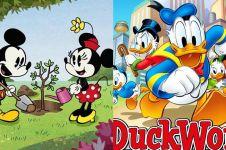 10 Film kartun tertua di dunia, ada Mickey Mouse