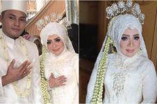 Beda gaya gaun pernikahan kedua, ketiga dan keempat Muzdalifah