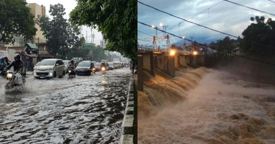 BPBD DKI: 2.258 warga mengungsi akibat banjir Jakarta