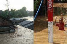 10 Potret kondisi terkini wilayah Jakarta terdampak banjir