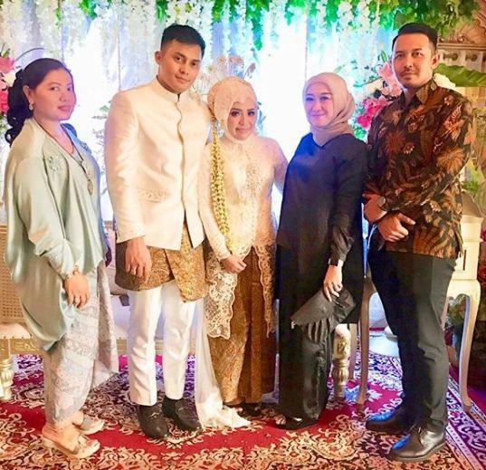 resepsi pernikahan muzdalifah © 2019 brilio.net berbagai sumber