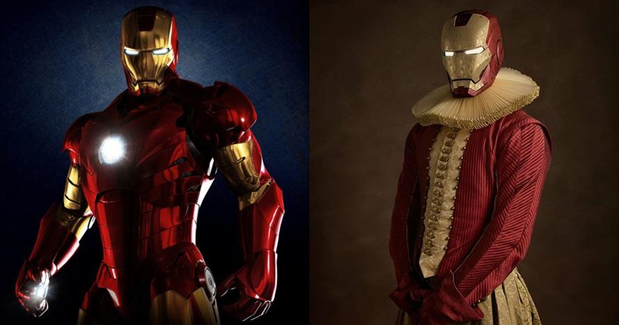 10 Kostum karakter superhero versi abad ke-16 ini bikin pangling