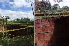 Heboh lubang raksasa di Sukabumi, ini penjelasan Badan Geologi