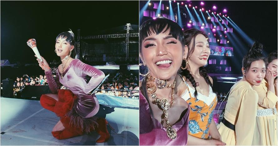 Jadi MC konser, Jessica Iskandar minta maaf ke fans Red Velvet