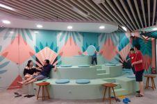 Bergaya kekinian, 4 spot di food court ini instagramable banget