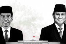 Suara Jokowi dan Prabowo berbeda jauh di lima provinsi ini