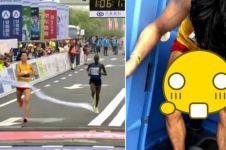 Atlet China ini teruskan lari maraton meski terkena diare