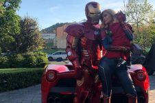 Demam Avengers, Kylie Jenner dan keluarga cosplay superhero Marvel