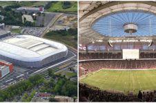 8 Stadion ini atapnya bisa dibuka tutup, canggih