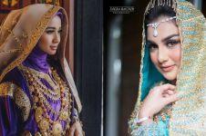 10 Seleb menikah dengan adat Minang, terbaru Irish Bella