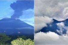 Gunung Agung erupsi lagi, status Siaga 3