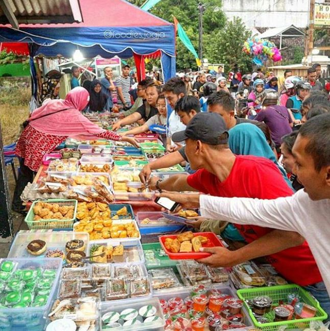 pasar ramadan legendaris nusantara © 2019 brilio.net