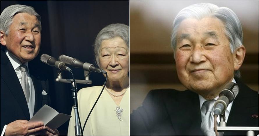 Kaisar Jepang Akihito turun tahta usai 30 tahun berkuasa