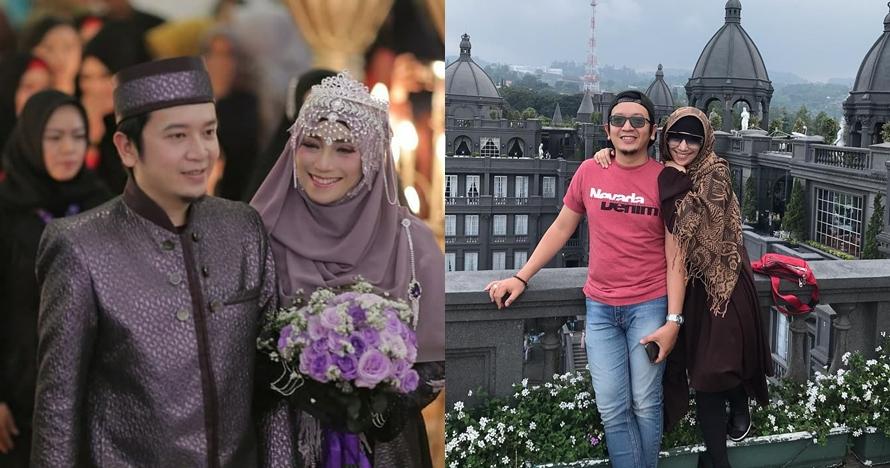 6 Momen manis bulan madu Inka Christie & suami di Bandung