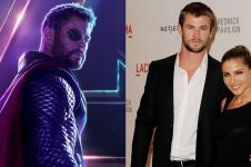 10 Potret mesra Chris Hemsworth 'Thor' & istrinya ini bikin baper