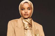 8 Pesona Halima, model cantik berhijab pertama di majalah bikini