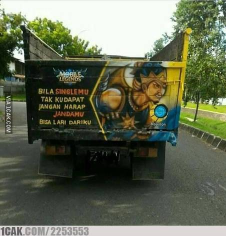 tulisan truk lucu deh © 2019 berbagai sumber