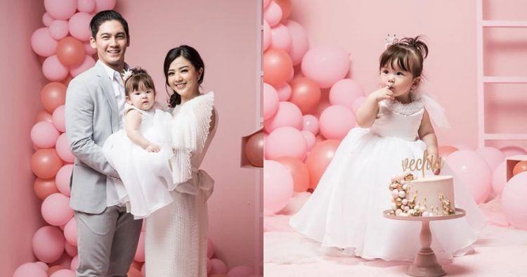 10 Momen ultah pertama putri Franda & Samuel Zylgwyn, serba pink