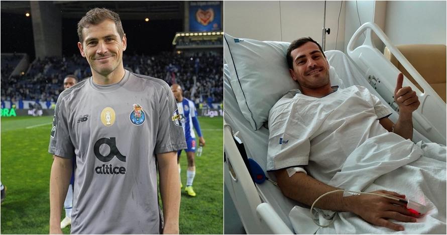 Doa klub elite dan pemain sepak bola dunia untuk Iker Casillas