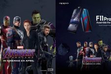 Ini perbedaan Oppo F11 versi Avengers dengan Oppo F11 Pro reguler