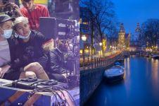 9 Momen liburan Ernest Prakasa & Meira ke Belanda, nostalgia pacaran