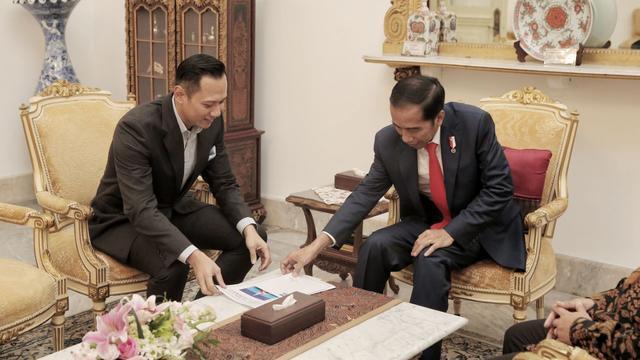 AHY temui Jokowi sore ini, ada pembicaraan khusus empat mata