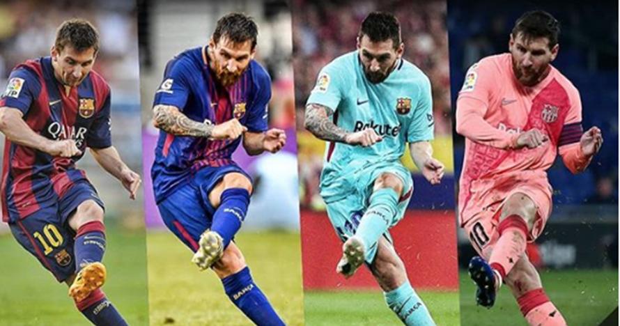 Di luar nalar, ini penjelasan ilmiah tendangan kaki kiri Messi