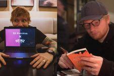 Konser di Jakarta, Ed Sheeran minta menu tempe sambel ijo & rendang