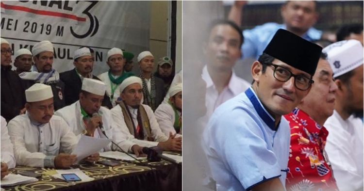 Ditanya soal diskualifikasi Jokowi-Ma'ruf, ini jawaban Sandiaga