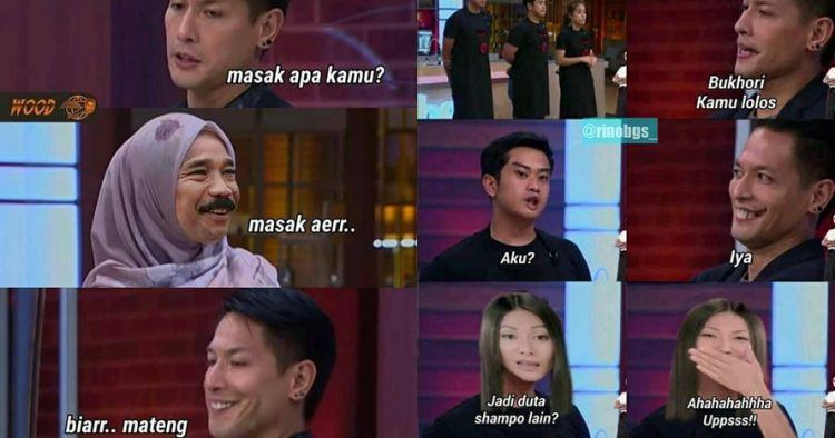 9 Meme Lucu Kalau Artis Indonesia Datang Ke Masterchef Kocak