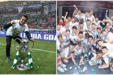 5 Momen Egy Maulana dan timnya rayakan juara Piala Polandia